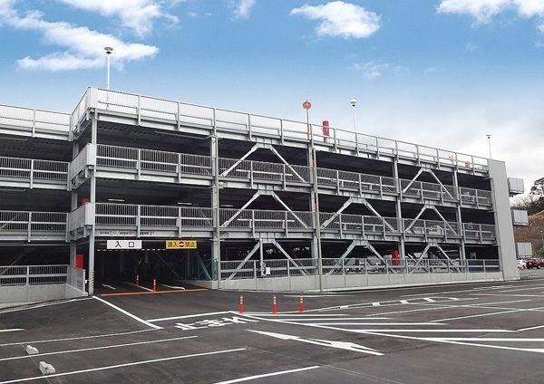 アイシン・エィ・ダブリュ(株) 岡崎東工場 第2立体駐車場棟