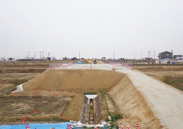 道路築造工事(市道八橋町109号線)