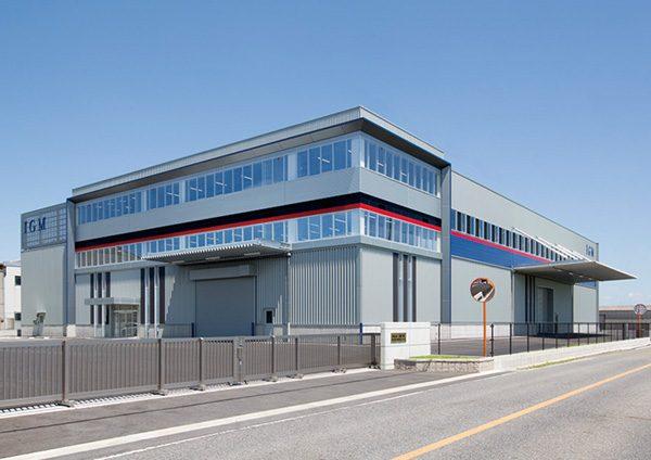 石亀工業(株)新工場